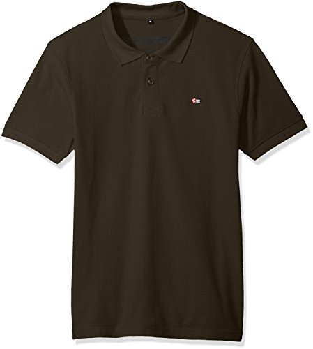 - Southpole Men's Classic Short Sleeve Solid Polo Shirt, Olive, X-Large