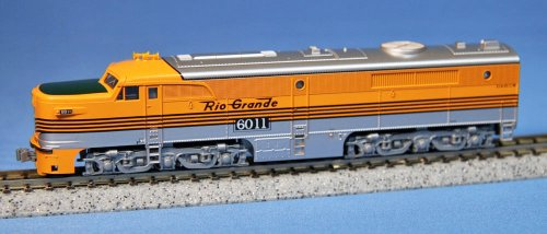 Kato N Scale Denver & Rio Grande West #6011 PA-1 Diesel for sale  Delivered anywhere in USA
