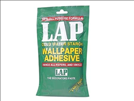 Polycell 5 Roll Lap Wallpaper Adhesive White Amazoncouk Diy