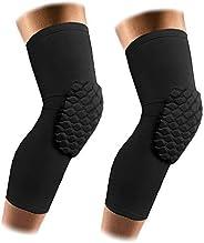 AceList 2 Packs (1 Pair) Protective Compression Wear - Men & Women Basketball Brace Support - Strap &