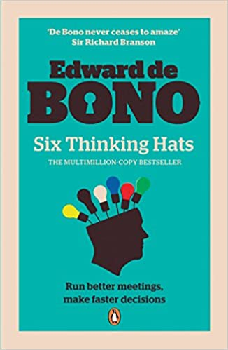 Image result for six thinking hats book