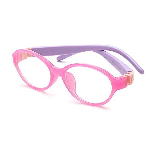 Fantia Children Oval Frame Kids Toddler Flexiable Eyeglass - Eyeglass Toddler Frames