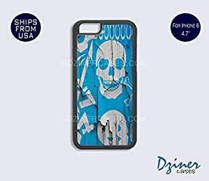 iPhone 6 Case - 4.7 inch model - Wall Skull iPhone Cover