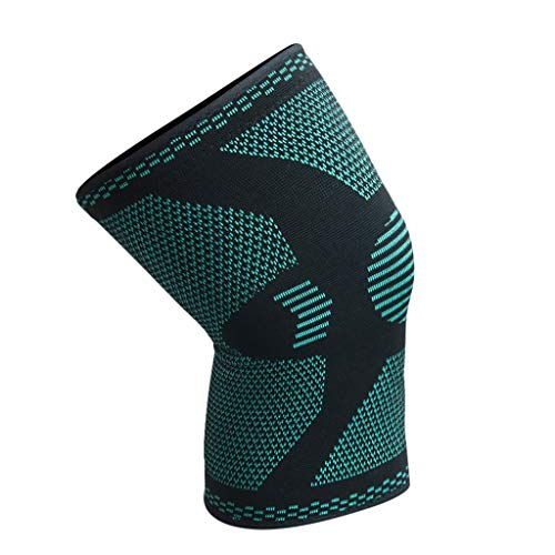 Lift Knee Pads Knee Compression Non-Slip Sleeve - Best Knee Brace Support for Running,Soccer, Basketball,Gym - Perfect Treatment for Joint Pain Relief,Meniscus Tear,Arthritis (XL, Grenn)