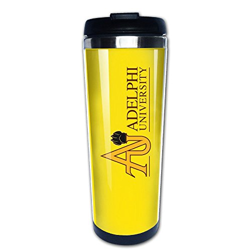 Texhood Adelphi University Custom Cool Stainless Steel Insulation Demitasse Sports Fan Coffee Mugs 400ml
