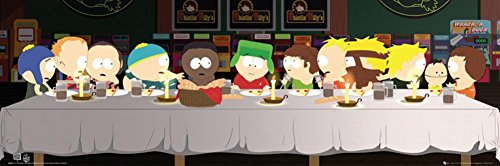 south-park-last-supper-mini-poster-36-x-12in-by-posterstoponline