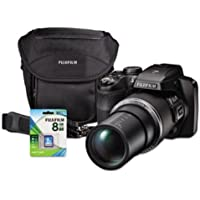 Fuji S9400W Digital Camera Bundle, 50x Optical Zoom, 16MP with Included Lens kit Basic Intro Review Image