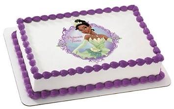 Amazon 6 Round Disney Princess Tiana Birthday Edible