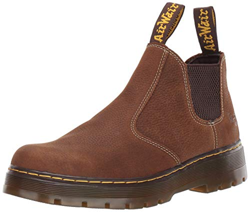 Dr. Martens Men's Hardie Boot, Whiskey, 9 Regular UK (10 US)