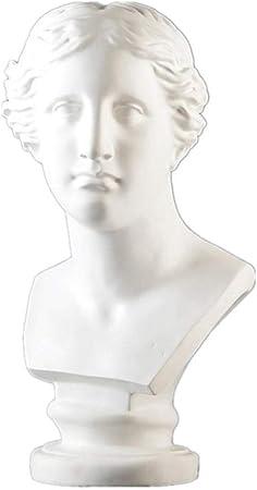 LOSAYM Estatua Decorativa Esculturas Y Estatuas De Jardín Mitología Griega Estatuas Busto Escultura Resina Decoración del Hogar Accesorios Material De Arte: Amazon.es: Hogar