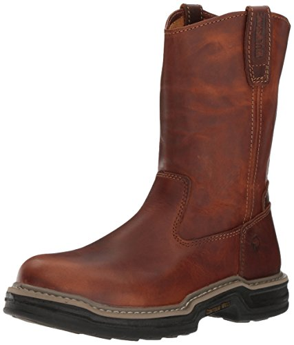 Men Wellington Boots - Wolverine Men's W02429 Raider Boot, Brown, 9.5 M US