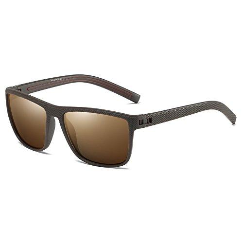 712c88ade6d Juli Polarized Sports Sunglasses for Men Women Tr90 Unbreakable Frame for  Running Fishing Baseball Driving P31