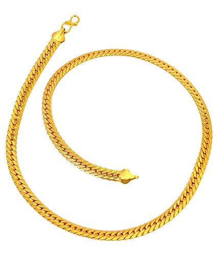 91378837176 J S IMITATION JEWELLERY PATI CUP DESIGNER CHAIN AND MICRO PLATED ...