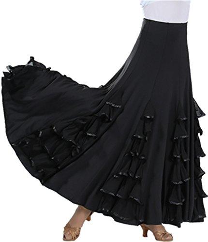 Pealiker - Falda - Ajustada - para mujer 2561#Black