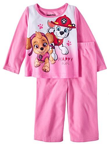 Paw Patrol Happy Pups Toddler Girls 2 Piece Sleepwear Pajama Set