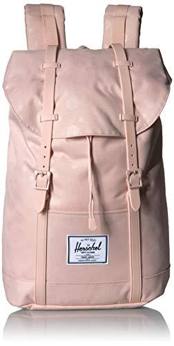 Herschel Retreat Backpack, Polka Cameo Rose, One Size