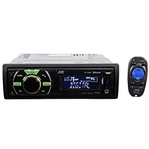 JVC KD-X50BT In-Dash Car Stereo Digital Media Receiver with Built-In Bluetooth and Front USB