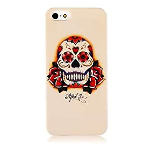 LZX Skeleton Flower Silicone Soft Case for iPhone4/4S