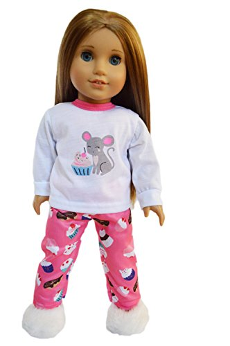 Brittany Cup - My Brittany's Cupcakes Pjs for American Girl Dolls-18 Inch Doll Clothes