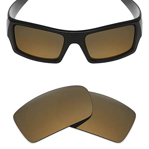 Mryok Polarized Replacement Lenses for Oakley Gascan - Bronze Gold