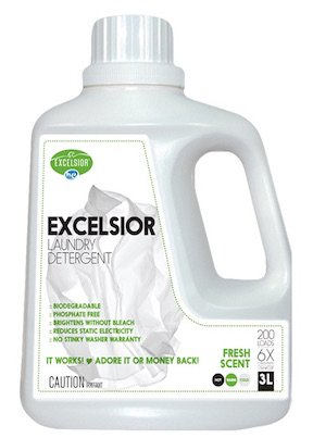 Excelsior SOAPFL3-U Liter Laundry Detergent with Eco Bottle, Fresh Scent