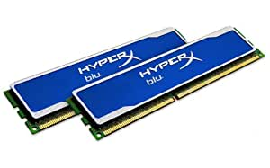 Kingston HyperX blu - Memoria RAM de 8 GB (DDR3, 2 x 4 GB, 1600 MHz, CL9), azul
