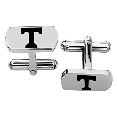 Tennessee Volunteers Rectangular Shape Stainless Steel Cufflinks - Cufflinks Steel Rectangular