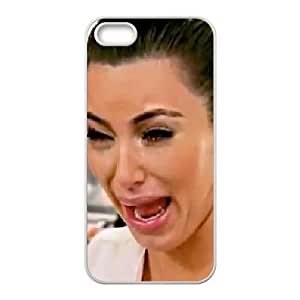 iphone5 5s Case (TPU),iphone5 5s Cell phone case White for kim kardashian crying - KKHG5348269