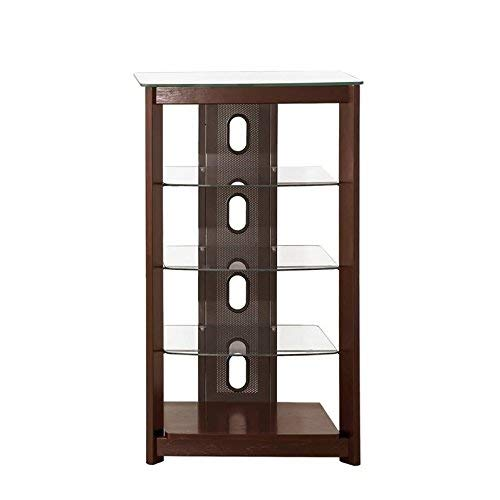 - Coaster Home Furnishings 4-Tier Media Tower Chestnut
