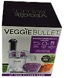 Veggie Bullet Deluxe Upgrade Kit Prep and Storage Bowl Lid Blender Cup