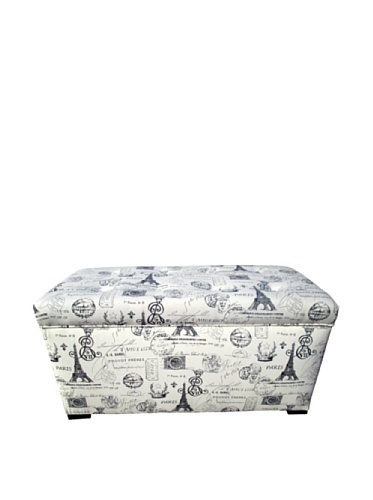 Paris Match Storage Trunk, Onyx ()