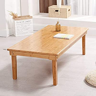 Bamboo Wooden Table Large Size Lap Desk Foldable Coffee Table