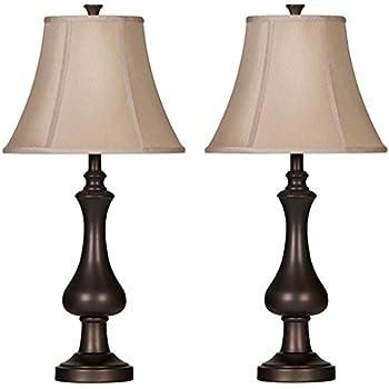 Amazon Com Hampton Bay Rhodes Bronze Table Lamp Clothing