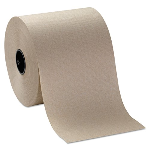 (GP Pro 26920 Hardwound Paper Towels, 7 Inch x 1000 ft. Roll, Brown, 6 Rolls/CT)