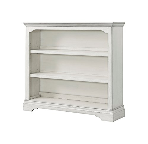 Westwood Design Riley Convertible Hutch Bookcase, Brushed White by Westwood Design