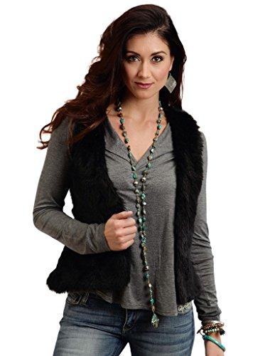 Cropped Fur Vest - 2