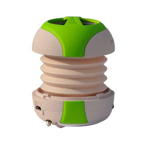 Sonpre Ninja Mini-N Pop-up Portable Speaker for Smartphones/Laptops/iPods/MP3s - Green