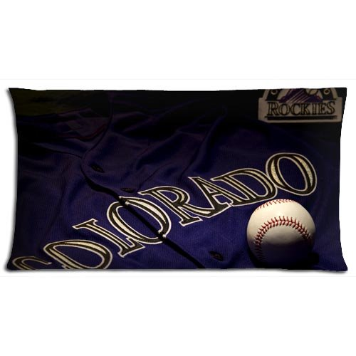 Cotton Polyester Zippered Generously Bench Pillow Cover Cases Durable Troy Tulowitzki 20x36(inch) 50x90(cm) ()