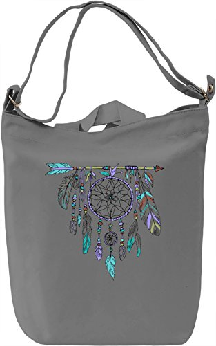 Dream Catcher Borsa Giornaliera Canvas Canvas Day Bag| 100% Premium Cotton Canvas| DTG Printing|
