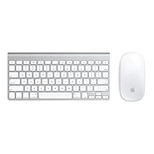 Apple Bluetooth Wireless Magic Mouse & Compact Keyboard by Apple Computer