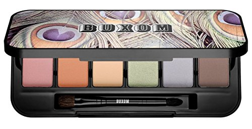 Buxom Pastel PersuasionEye Shadow Palette -A Sunkissed Set of 6 Ultra Luxe Shadows