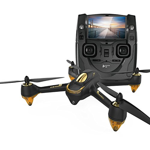 Hubsan H501S X4 BRUSHELESS FPV Quadcopter 1080p Camera GPS Automatic Return Altitude Hold Headless Mode Drone (black)