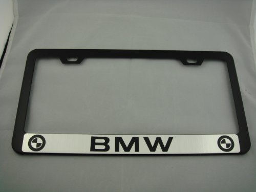 license plate frame for bmw 328i - 2