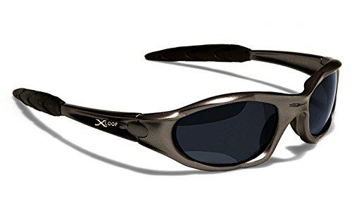 X-Loop Occhiali da Sole Sport - Ciclismo - Sci - Moda - Condotta - Moto - Sconto / 010P Antracite Xloop XL010P12