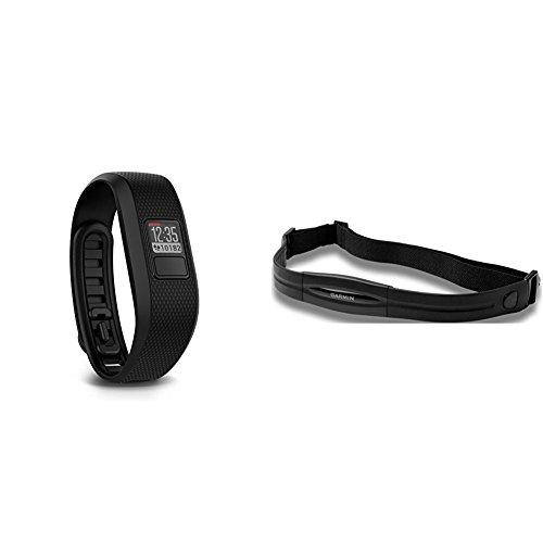 Garmin vivofit 3 Activity Tracker, Regular fit - Black and Heart Rate Monitor