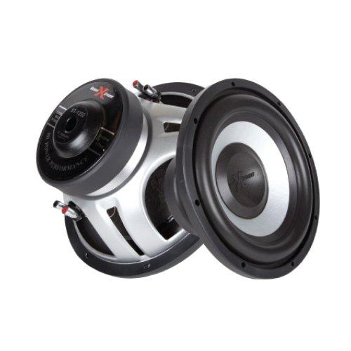 SoundXtreme 1500W 15-Inch Car Subwoofer Dual 4 Ohm ST-1552
