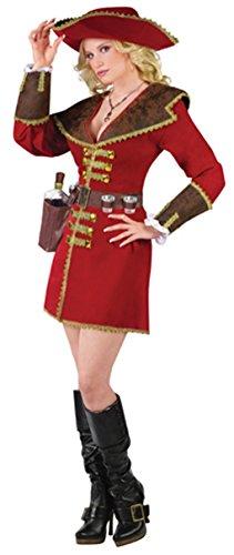 Rum Runner Pirate - Pirate of the Caribbean Rum Runner Adult Costume (Sm/Md)