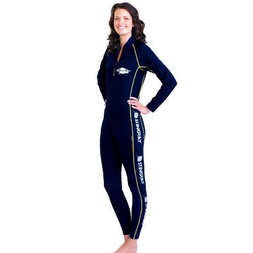 Traje de baño corporal completo para mujer con protección solar, estilo deportivo, de la marca Stingray
