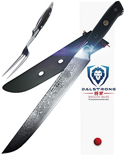 DALSTRONG Carving Knife & Fork Set - Shogun Series -9