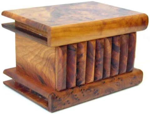 Caja mágica grande de Madera tuya marroquí longitud 15 ancho 10 ...